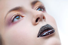 Face make-up Stock Images