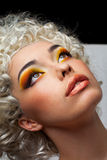 Face make-up Stock Photography