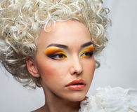 Face make-up Royalty Free Stock Images