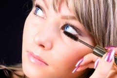 Face make-up Stock Photos