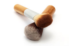 Face make-up brushes Royalty Free Stock Image