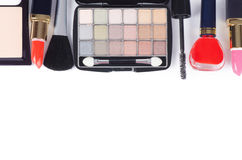 Face make-up set Royalty Free Stock Photo