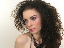 Face and Makeup Stock Photo