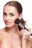 Face makeup Royalty Free Stock Photos