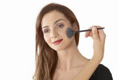 Face makeup Royalty Free Stock Photography