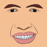 Face Man Royalty Free Stock Images
