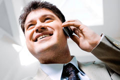 Face of man Stock Photography