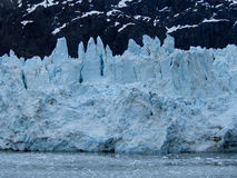 Face of the Margerie Glacier at Glacier Bay National Park Royalty Free Stock Photo