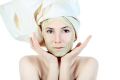 Face mask royalty free stock photos