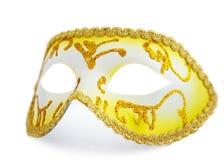 Face mask. Isolated carnival mask on white background royalty free stock image