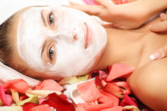 Face mask stock photos