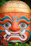 Face mask of Thai god. Mythologic creature royalty free stock photography