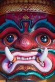 Face mask of Thai god. Mythologic creature Royalty Free Stock Photos
