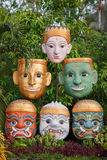 Face mask of Thai gods. Mythologic creatures royalty free stock photography