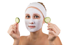 Face mask Stock Images