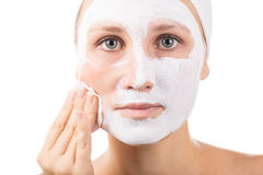 Face mask Royalty Free Stock Photography
