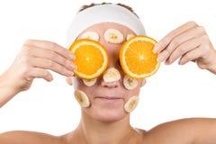 Face mask Stock Photo