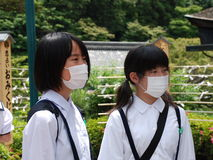 Face Masks Stock Images