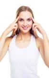 Face massage Stock Image