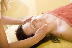 Face massage Stock Photography
