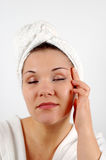 Face massage #5 Stock Photo