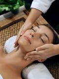 Face massage Royalty Free Stock Photos