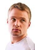 Face men close up Stock Photography