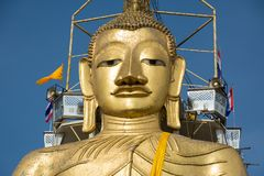 Head of the Great Buddha in Bangkok Stock Photo