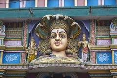 Face of the Mother Durga Royalty Free Stock Photos