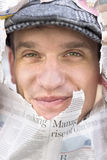 Face On News Royalty Free Stock Photo