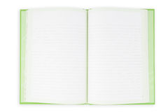 Face notebook for background and text Royalty Free Stock Photos