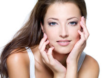 Free Face Of A Beautiful Young Woman Stock Photos - 15426723