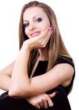 Face Of Beautiful Business Woman Royalty Free Stock Photos