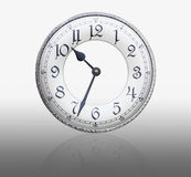 Face old wall clock Royalty Free Stock Photo