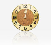 Face old wall clock Royalty Free Stock Image
