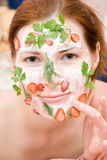 face pack Stock Photography