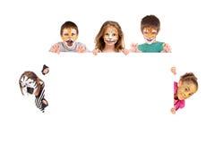 Face-paint Stock Images