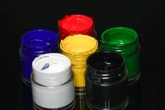 Face paint kit Stock Images