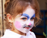 Face painting Stock Image
