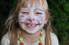 Face painting Stock Photos