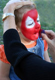 Face Painting Royalty Free Stock Photography