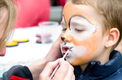 Face painting for children Stock Images