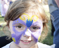 Face Painting. Stock Photos