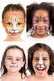 Face-Painting Stock Photography
