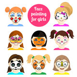 Face painting 9 Stock Photo
