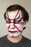 Face painting kabuki Stock Photography