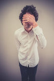 Face palm Stock Photography