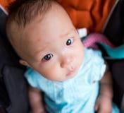 Face pequena do bebê Fotos de Stock Royalty Free
