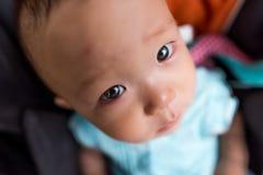 Face pequena do bebê Fotografia de Stock Royalty Free