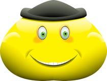 Face pesada do smiley Foto de Stock Royalty Free